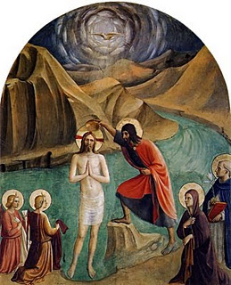 Baptism of Christ by Fra Angelico